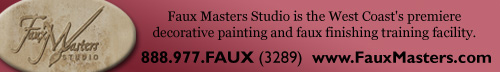 Faux Master Banner
