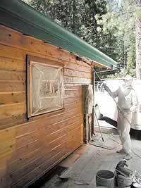 acrylic wood stain
