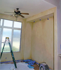 High Quality Lime Wash Application Lime Paint Goes On The Walls ...