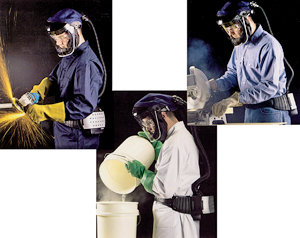 Clearvisor Face Shield Respirator Combo Paintpro