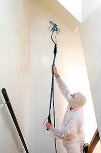 Specialty Tools for Vaulted Ceilings, Painting Vaulted ...