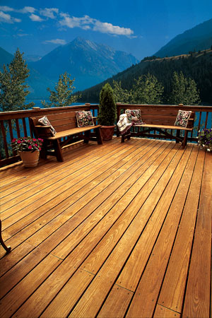 Clear Wood Deck Finishes