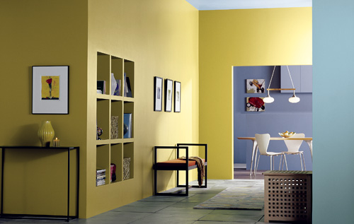 Paint Colors For Walls interior paint colors and light refraction - paintpro
