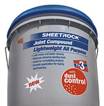 USG Sheetrock control joint compound